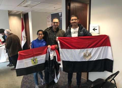 انتهاء التصويت على تعديلات الدستور في اليوم الأول بسفارة مصر بأوتاوا