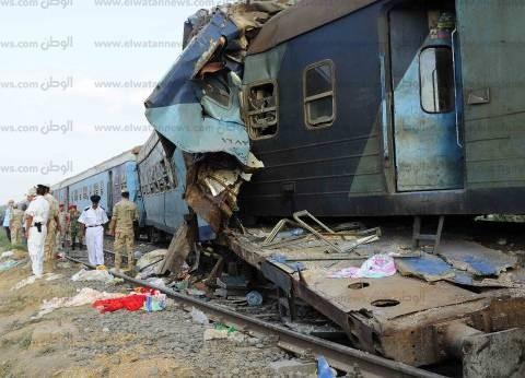 رحل الركاب وبقيت «أشياؤهم» تروى تفاصيل ما حدث داخل «قطار الموت»