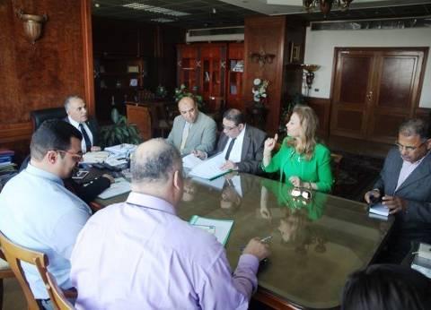 وزير الري يناقش تطورات العمل مع عدد من قيادات الوزارة الجدد