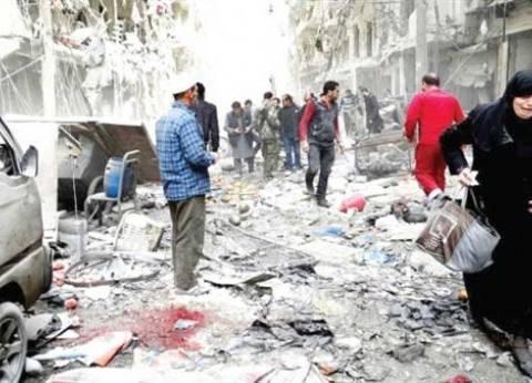 معارك في الغوطة الشرقية المحاصرة وجثث تحت الأنقاض