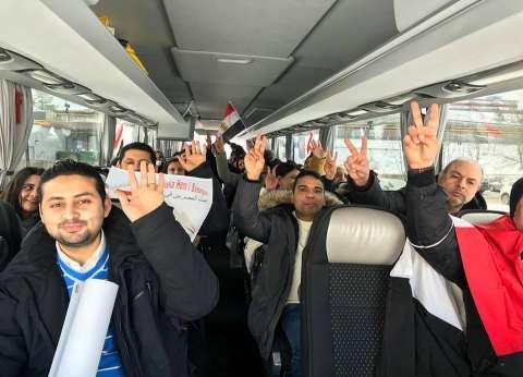 مصريون بالسويد يروون كواليس 5 ساعات سفر وسط الثلوج للتصويت بالانتخابات