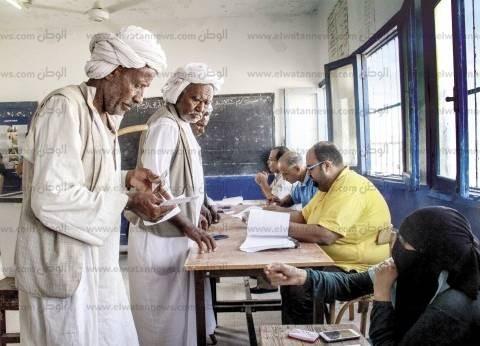 """ضعف إقبال الناخبين على لجان """"حلايب وشلاتين"""" الانتخابية"""