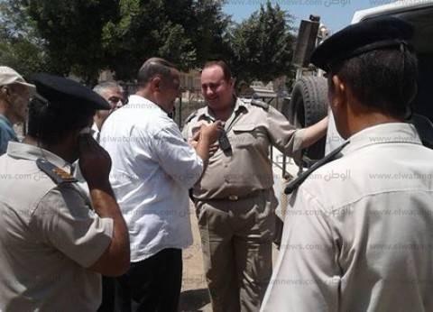 بالصور| إبراهيم شمس يتفقد مدينة قطور برفقة شرطة المرافق بالغربية
