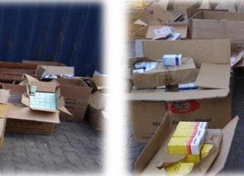 """إحباط تهريب 2 مليون عبوة أدوية داخل """"أجهزة مطبخ"""" عبر ميناء الإسكندرية"""