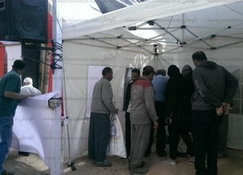 بدء الاستفتاء في السلام والنهضة.. ومواطن: جئنا من أجل الاستقرار والأمن