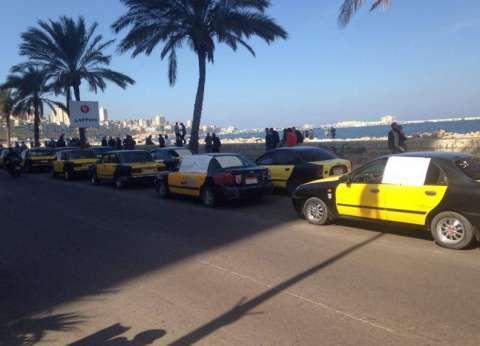 غضب بين أهالي الإسكندرية بسبب الشلل المروري نتيجة إضراب سائقي التاكسي