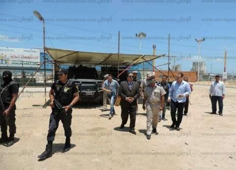 بالصور| مدير أمن كفر الشيخ يتفقد التمركزات والخدمات الأمنية