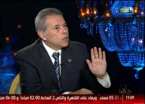 توفيق عكاشة: أوافق على التطبيع الشعبي مع إسرائيل