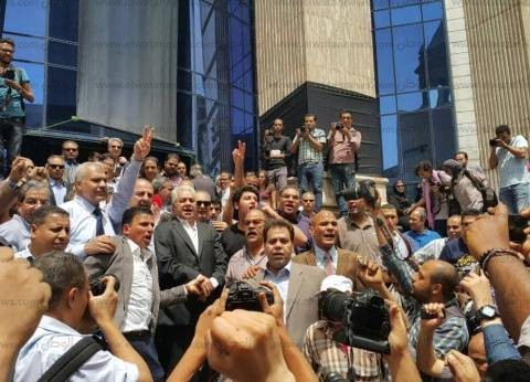 """""""مصر القوية"""" يعلن تضامنه مع مطالب """"الصحفيين"""""""