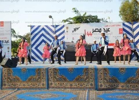 بالصور| وزيرا الأوقاف والثقافة يشاركان الإسماعيلية في حفل ذكرى النصر