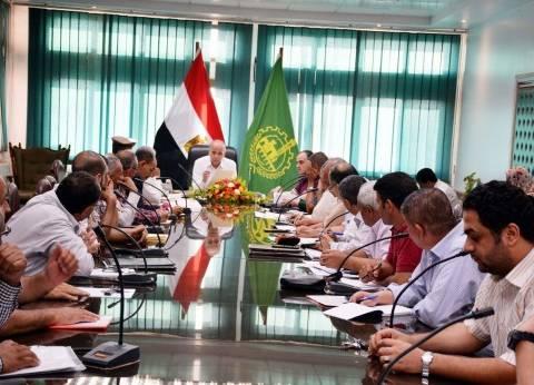 محافظ القليوبية يعقد اجتماعا لتنفيذ قرار لجنة استرداد أراضي الدولة