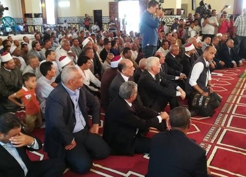 3 محافظين سابقين يشاركون الوادي الجديد احتفالات العيد القومي