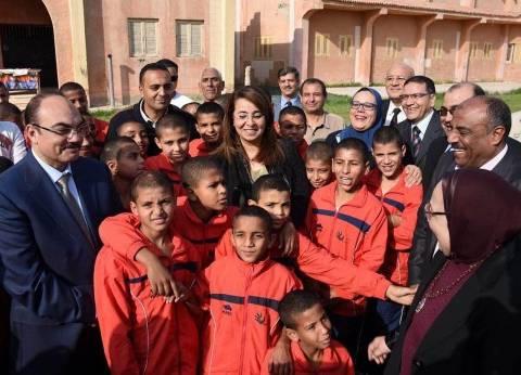 وزير التضامن الاجتماعي تتفقدمجمع الدفاع لرعاية الأطفال