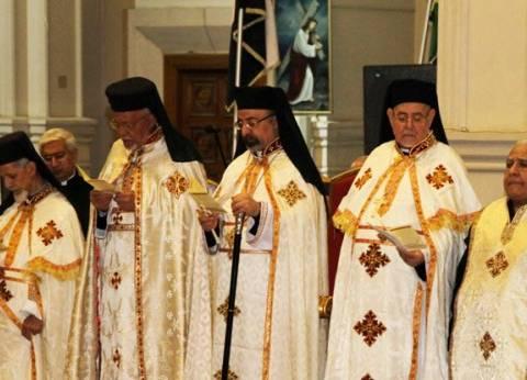 """بدء توافد أقباط وشخصيات عامة لحضور قداس عيد القيامة بـ""""الكاثوليكية"""""""