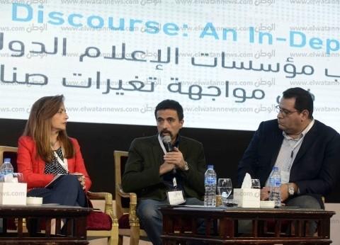 عمر مصطفى: نسعى لتطوير صناعة الإعلام.. وهناك فوضى في التدريب الصحفي