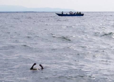 غرق رجل وطفلة في البحر بمطروح
