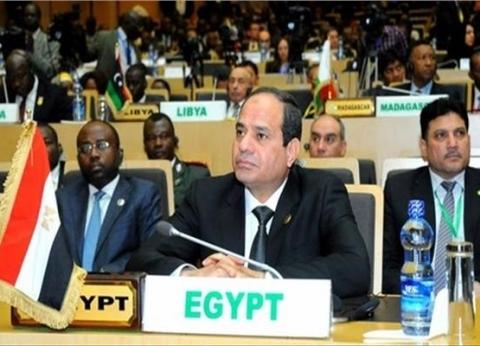 """الرئيس السيسي يستعرض تقريرا عن """"السلم والأمن"""" في القارة الإفريقية"""