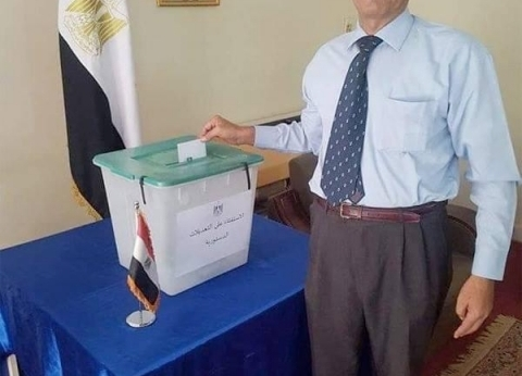 سفير مصر بأستراليا: انتهاء اليوم الأول للتصويت على التعديلات الدستورية