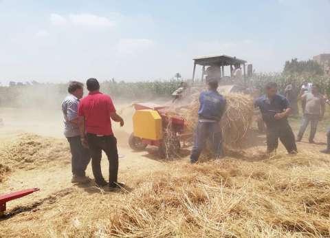 محافظ الغربية: إجراءات استباقية للحد من ظاهرة حرق قش الأرز