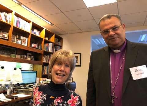 رئيس الطائفة الإنجيلية في ضيافة مؤسسة Joni and Friends لذوي الإعاقة