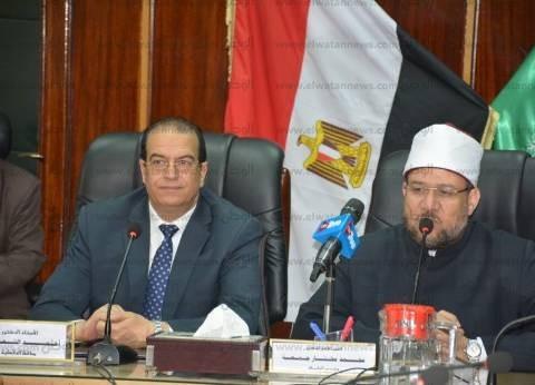 وزير الأوقاف: استرداد أملاك الدولة واجب شرعي ومن يعتدي عليها آثم قلبه