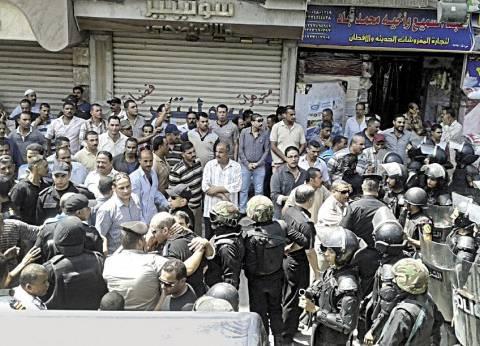 غاز ورصاص فى معركة الأمن المركزى وأمناء الشرطة