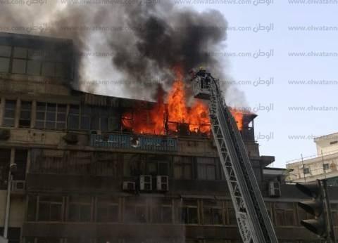 """رجال المطافئ ينجحون في إخماد حريق """"التجاريين"""""""