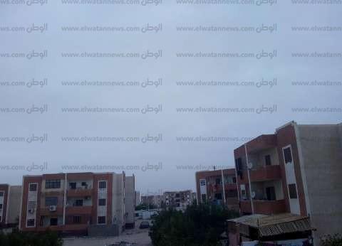الغيوم تكسو سماء مدن جنوب سيناء.. وتساقط أمطار خفيفة