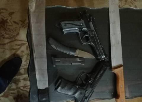 ضبط 7 قطع سلاح بحيازة 5 متهمين في كفر الشيخ