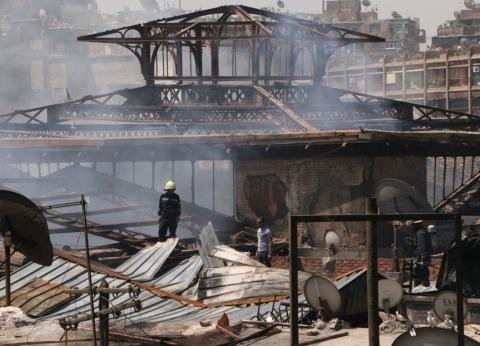 نائب محافظ القاهرة: إجراءات فورية ضد المحلات المخالفة بعد حريق الموسكي