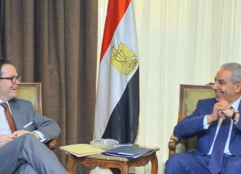 السفير الفرنسي: حريصون على توسيع أطر العلاقات الثنائية مع مصر