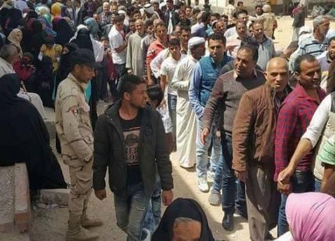 تواجد أمني مكثف بمحيط اللجان الانتخابية بشمال سيناء