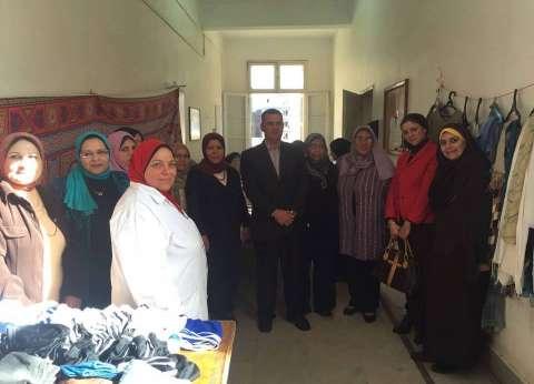 سوق خيري بمعهد البحوث الطبية في الإسكندرية