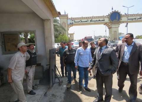 بالصور| مدير أمن الغربية يتفقد تأمين كمين دفرة