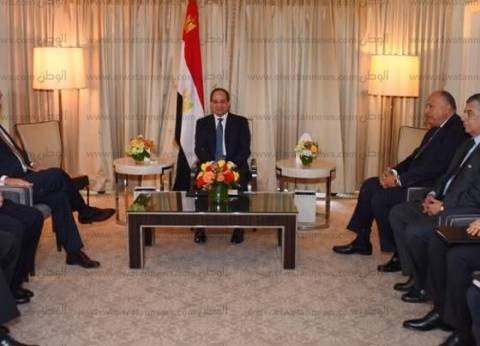 عاجل| السيسي يلتقي وزير الخارجية الأمريكي ريكس تيلرسون