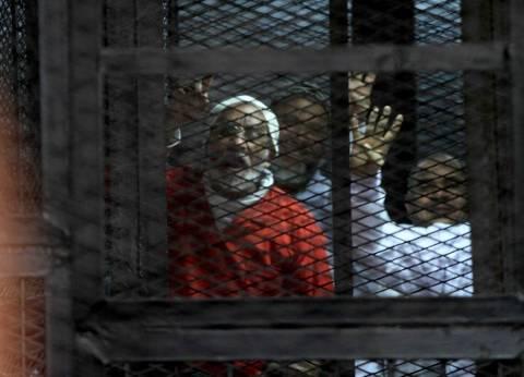 """تأجيل محاكمة بديع و738 في قضية """"فض رابعة"""" لـ4 يوليو"""