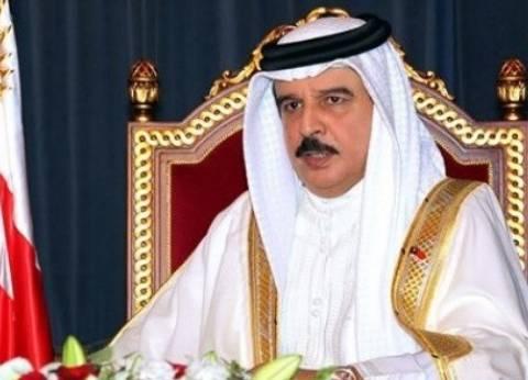 """ملك البحرين يعزي السيسي في تفجيري طنطا والإسكندرية: """"نقف إلى جانبكم"""""""