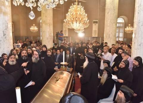 الكنيسة تحيي ذكرى الأربعين لوفاة الأنبا ساويرس بدير المحرق 28 أغسطس