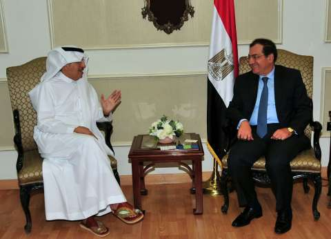 """وزير البترول يلتقي رئيس """"أكوا باور"""" السعودية لبحث الفرص الاستثمارية"""