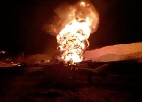 """""""صحة جنوب سيناء"""": إصابة 3 أشخاص بالاختناق في حريق حقل """"أم عسل"""""""