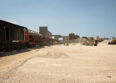 84152 طن قمح في صومعة القطاع الخاص بميناء دمياط
