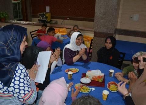 بالصور| جامعة الفيوم تنظم حفل إفطار خيري للأطفال الأيتام