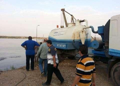 """أزمة مياه تضرب أسيوط بعد تسرب """"المازوت"""""""