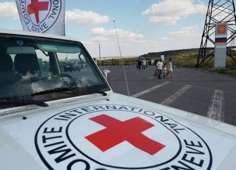 الصليب الأحمر: قافلة مساعدات تتجه إلى عفرين للمرة الأولى هذا العام