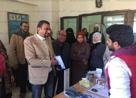 الكشف على 912 حالة ضمن «100 مليون صحة» في شمال سيناء