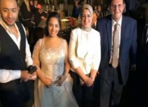 خطوبة متحدث وزارة الصحة خالد مجاهد على ابنة شقيق وكيل مجلس النواب