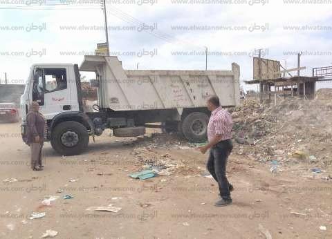 رفع 400 طن مخلفات صلبة في حملة نظافة بمدخل المنصورة