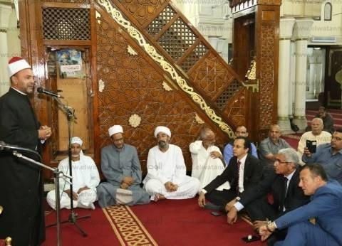 """""""أوقاف قنا"""" تحتفل بليلة الإسراء والمعراج بمسجد سيدي عبد الرحيم القنائي"""