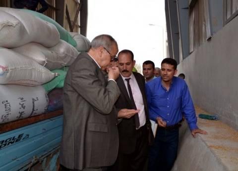 محافظ القليوبية: إجراءات فورية لمنع التكدس أمام شون القمح