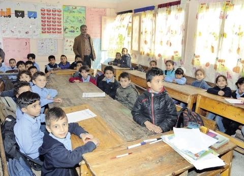 """وصول حملة """"100 مليون صحة"""" لديوان مديرية التربية والتعليم بشمال سيناء"""